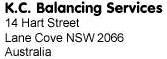 KC Balancing Services
